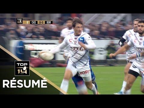 TOP 14 - Résumé Castres-Bordeaux-Bègles: 13-32 - J12 - Saison 2018/2019