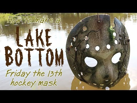 "How To Make a ""Lake Bottom"" Jason Mask - Friday The 13th DIY Tutorial"