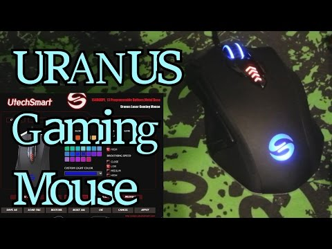 Is It Any Good? New UtechSmart Uranus MMO/FPS Gaming Mouse Unboxing and Review