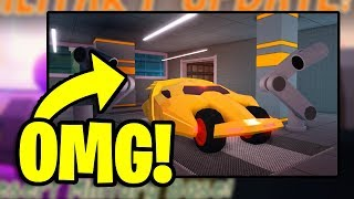 🔴 JAILBREAK GARAGE UPDATE OUT NOW! | PLAYING IN THE UPDATE! | SAFE GIVEAWAYS! | Roblox LIVE