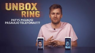PATYS PIGIAUSI PASAULIO TELEFONAI???   XIAOMI ir BLACKVIEW   Unbox Ring apžvalga