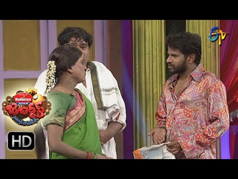 Hyper Aadi Raising Raju Performance | Jabardsth |  9th March 2017| ETV  Telugu