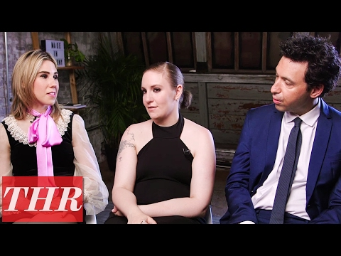 Cast of HBO's 'Girls': Lena Dunham, Jemima Kirke, Zosia Mamet & More! | THR Cover Shoot