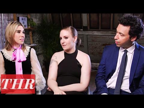 Cast of HBO's 'Girls': Lena Dunham, Jemima Kirke, Zosia Mamet & More!  THR Cover Shoot