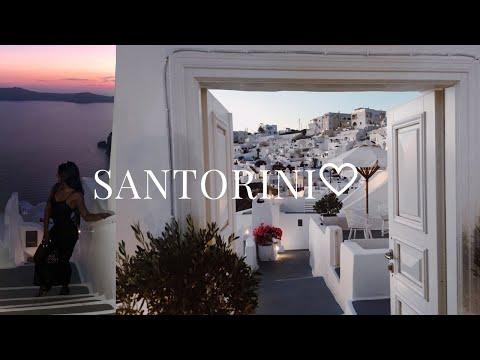 THE MEN IN GREECE HAVE MAD JUNGLE  FEVER  | TRAVEL VLOG #2 ♡ | SANTORINI