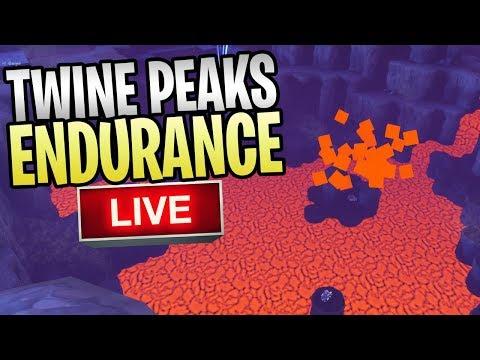Fortnite - Twine Peaks Endurance Live