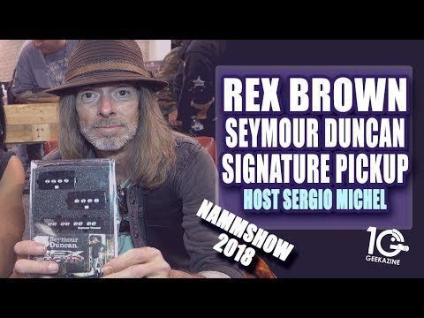 Rex Brown Debuts Seymour Duncan Signature Pickup