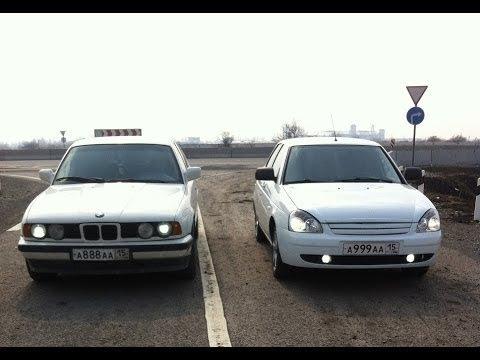 Как Приора увезла BMW X6