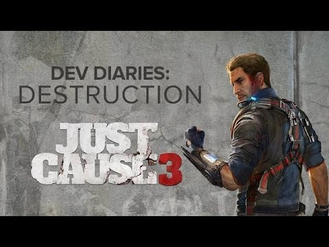 Just Cause 3 - Episode 2: Destruction Dev Diary Trailer   Official Open-World Game (2015)