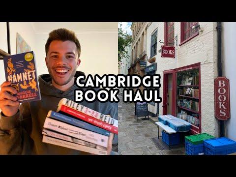 book shopping in cambridge + 7 book haul