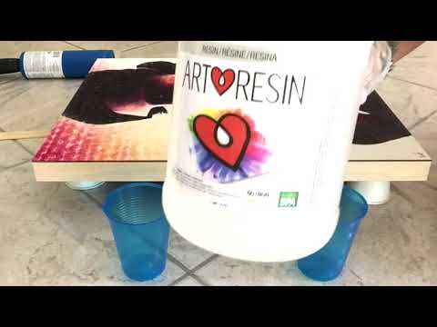 How to Use Art Resin