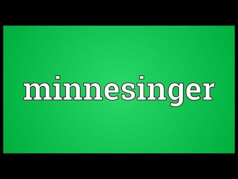 Header of minnesinger