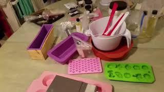 Produtos necessários para fazer sabonetes artesanais!!