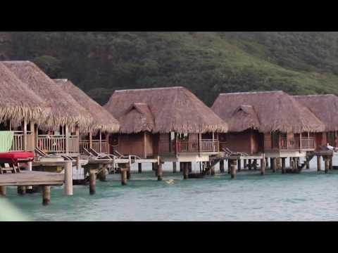 Rashad and Farida in Bora Bora - edited