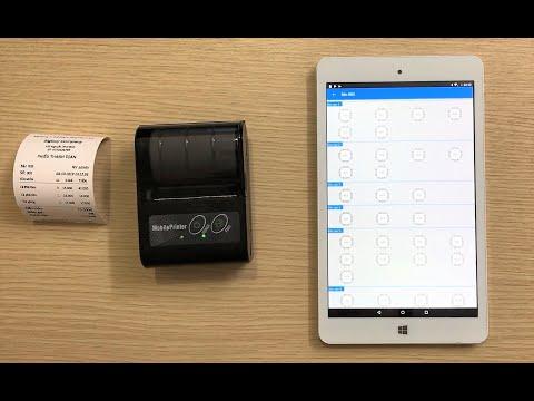 Cài đặt phần mềm bán hàng di động kết nối máy in không dây ( bluetooth)