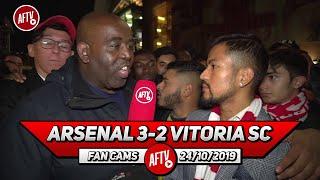 Arsenal 3-2 Vitoria SC | Martinelli Has That Passion Like Alexis Sanchez