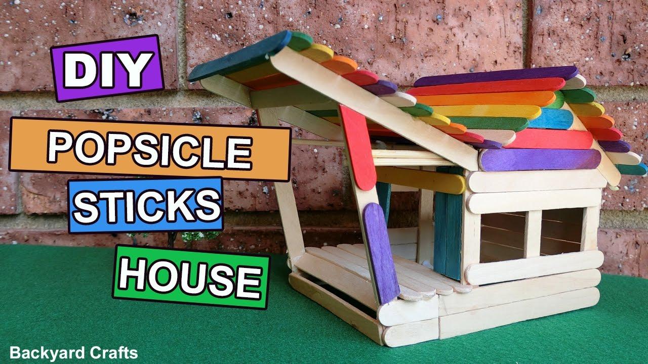 Ice Cream Stick Diy House | Diydrywalls org
