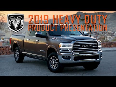2019 Ram Heavy Duty – Product Presentation