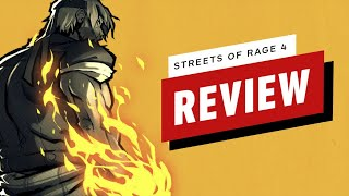 Streets of Rage 4 Review (Video Game Video Review)