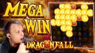 HUGE WIN on Dragonfall Bonus Buy!