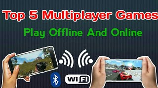 Top 5 Multiplayer Games For Android Phones(Offline And Online) DK 4 You Technical.