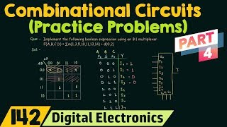 Practice Problems on Combinational Circuits (Part 4)