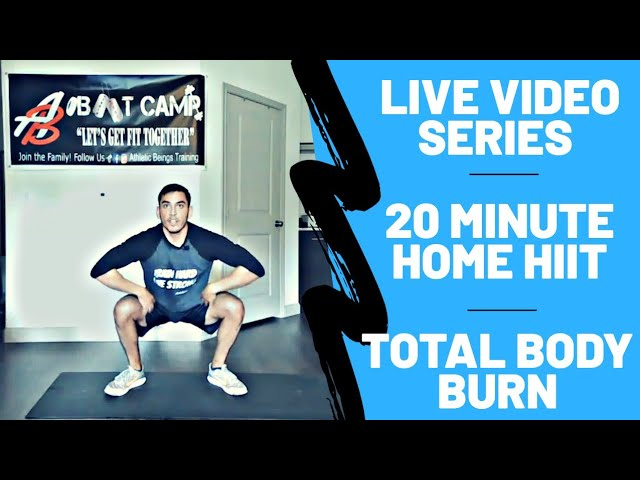 20 Minute Home HIIT Workout | Shred & Tone Body Burn