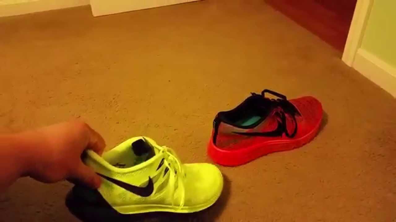 Nike free 5.0 vs Nike Air max