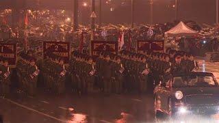 Генеральная репетиция Парада в Минске