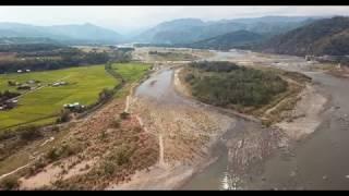 Kalinga Chico River Dam - RAW HD Drone footage