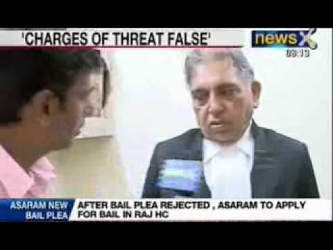 Asaram Assault Case: Asaram's lawyer dismisses threat charge to Jodhpur Police as false