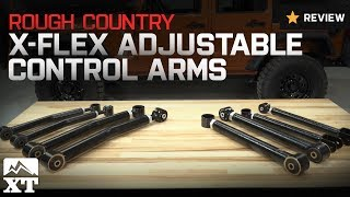 2007-2016 Wrangler Rough Country X-Flex Adjustable Control Arms (JK) Review(The Rough Country X-Flex Adjustable Control Arms are an affordable option that are sold in either pairs or a full set of eight., 2016-06-16T18:17:52.000Z)