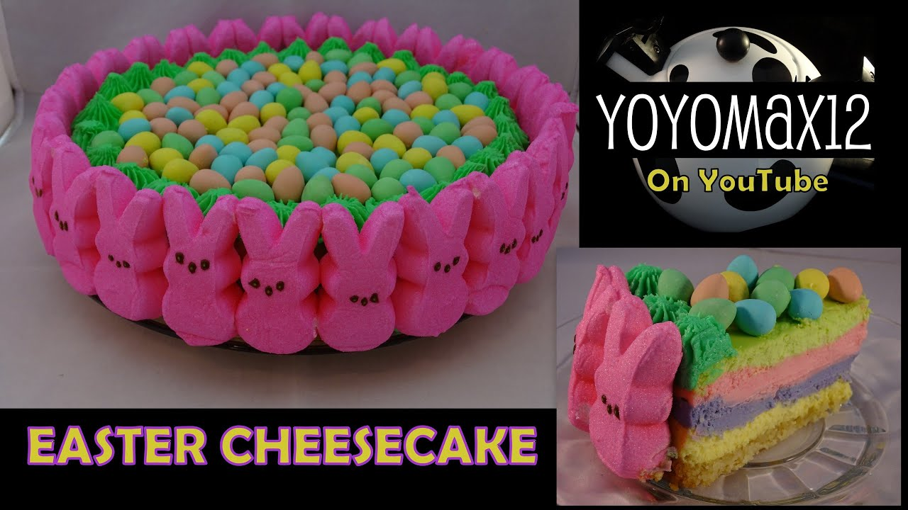 Easter Cheesecake - with yoyomax12 - YouTube