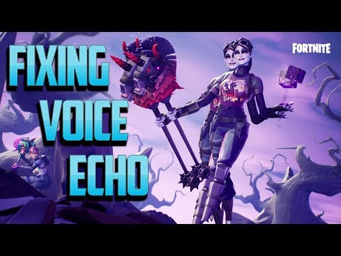 Fortnite Echo Mic - Hear voice chat twice! Consoles