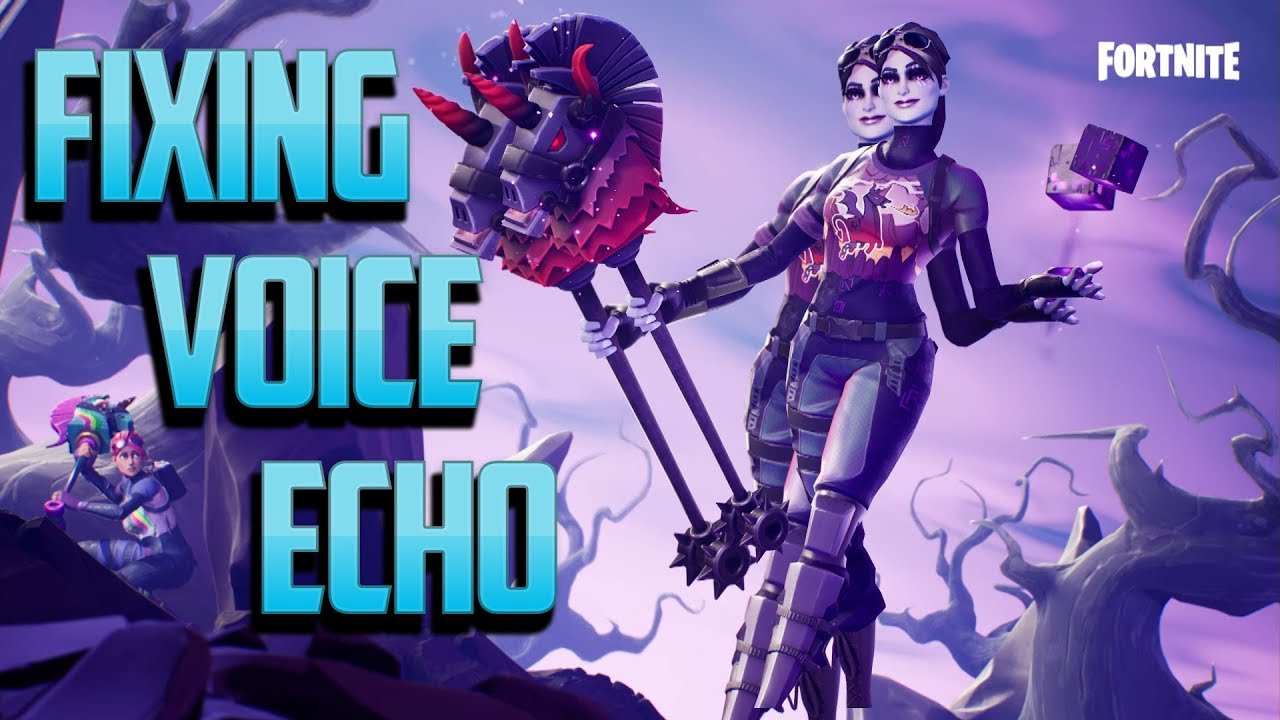 Fortnite Echo Mic - Hear voice chat twice! Consoles