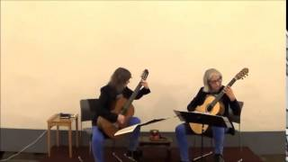 The Anido Guitar Duo play Irminsul by Jan Bartlema