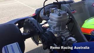 Remo Racing 2018 Remo tests the New IAME X30 Componentry