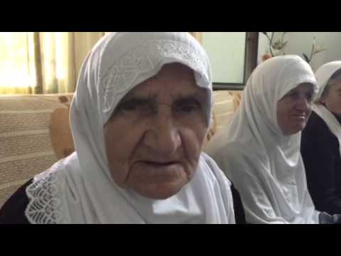 82 Year Old lady Reading Quran