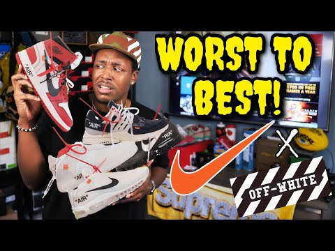 THE FULL NIKE X OFF-WHITE COLLECTION | ALL 10 WORST TO BEST (Trigger Warning)