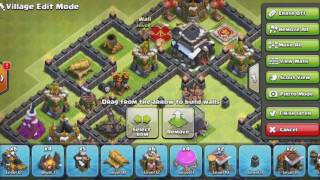 Clash Of Clans - new 2017  Top 3 bases ქართულად !!!