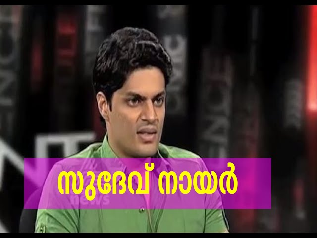 Sudev Nair , Point blank interview: Point Blank 17th Aug 2015
