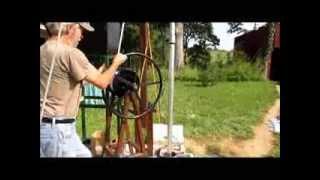 Hand Pump, Well Pump Installation Without a Boom Truck- Part 2