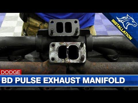 BD Diesel Pulse Exhaust Manifold Install: 2001 Dodge Cummins