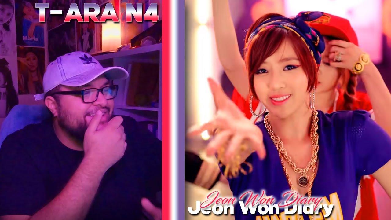 T-ARA N4 - Jeon Won Diary Dance & Drama MV REACTION   She Makes Me Smile #TakeMeback