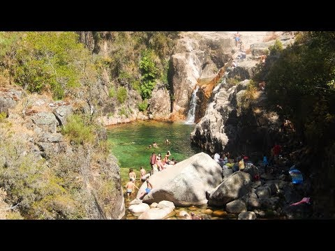 Small pool with an amazing waterfall Trip To Europe 2016 Part Eight (Van Life Uk) 2017-#004