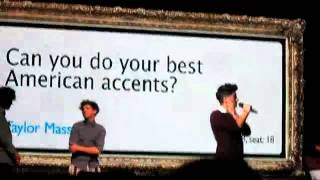 One Direction- Rap fresh prince of Bel-Air @ the beacon theater NYC 5/26/12