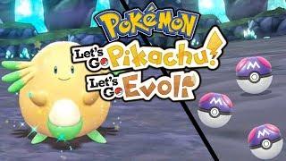 Shiny Chaneira Hunt & Meisterbälle suchen 😍 Let's Go Pikachu & Pokémon Let's Go Evoli