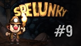Let's Play Spelunky HD Remake (PC Gameplay/Walkthrough) Episode 9 - HIGHWAY TO HELL!