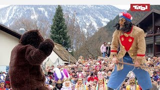 Brauchtum in Tirol: Das Schellerlaufen in Nassereith, Tirol