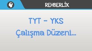 TYT - YKS Çalışma Düzeni...